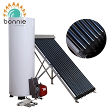 Energy Saving Double Copper Coil Split Pressurized Heater Heat Exchange Solar Water Heaters