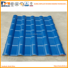 New roof material PVC plastic steel roof tile