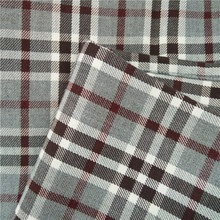carded cotton yarn dyed twill shirting fabric 32s*32s 96*72 135gsm