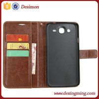 Desimon wallet stand PU Leather flip cover case for samsung galaxy mega 5.8 i9152