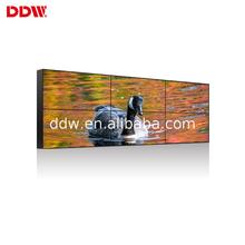 New product advertising display 3x3 lcd video wall 47 inch full color lg broadcast player