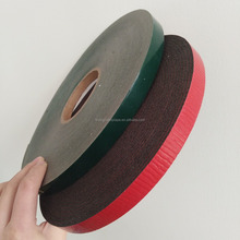Black Working Area Double Sided sticky PE Foam Adhesive Tape 25mm x 1.5mm for Car Industry