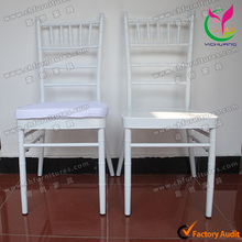 Factory Price White Aluminum Chair Like Bamboo with Removable Cushion YCF-A79