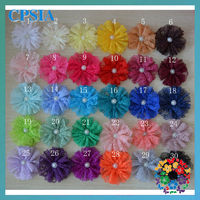 2013 new style 4inch lace flower cheaper wholesale artificial flower many colours for choose