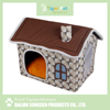 China high quality new arrival latest design pet product rattan cat house