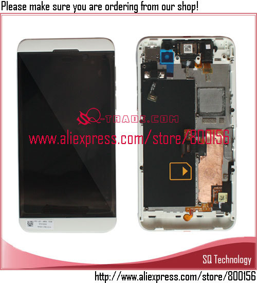 Hot selling repair parts for BlackBerry <strong>Z10</strong> 4G lcd display and <strong>touch</strong> <strong>screen</strong> free shipping