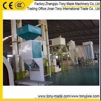 (M) Animal feed pellet packing machine with capacity 15kg to 50kg per bag
