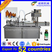 Fully Automatic gel polish filling machine,glass bottle aluminium capping machine,glass bottle filling and sealing machine