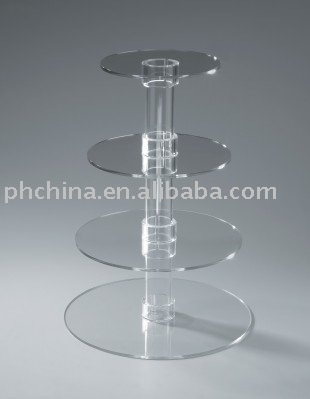 KD Acrylic Cupake Stand for Party,Acrylic Fruit Display Stand,Clear Acrylic Cupcake Cake Centerpiece Stand