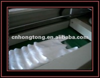 PE Plastic film biodegradable t shirt carry bag making machine