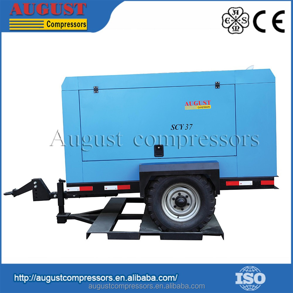 Experienced Factory Portable Screw Type Silent Air Compressor