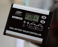 Solar Power System LCD Dispaly PWM 12V 30A Dual Battery with CE RoHS Automatic Voltage Controller Regulator