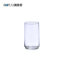 Professional Centerpiece Tall Drinking Water Tumblers Flight Plane Airline Glass Cup
