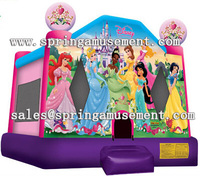 Best Design Princess inflatable art panels bounce house jumping castle for kids SP-PP026