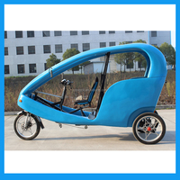 Moped three Wheeler Passenger Taxi Tri Bike