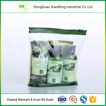 Service provided cheap personalized cosmetic pvc clear plastic bags custom