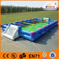 Customed giant PVC plastic inflatable human table football