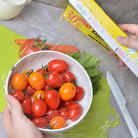 Excellent quality professional food grade plastic clear cling film