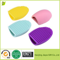 FDA Approved Silicone egg Brush for Women/Brushegg Cosmetic Clean tool