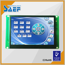 3.5'' 320*240 tft lcd without touch screen controlled RS232/TTL UART interface with wide temperature and usb download picture