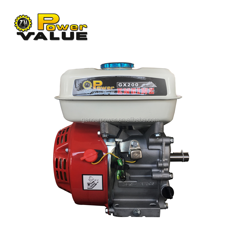 6.5hp 168f OHV gasoline engine GX200 for generator use