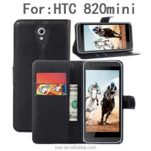 Full in stock With holder wallet flip cover for htc desire 310 826 820 616 500 one m8 mini 2 leather case