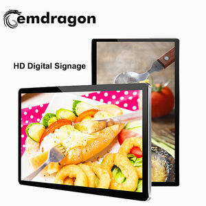 wall mounted led advertising screen 15.6 commercial digital signage/ advertising screen/ lcd display monitor signsadvertising