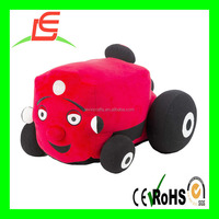 LE B135 stuffed plush tractors for baby