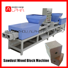 Environmental Sawdust Wood Block Making Machine