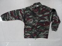 Men's red Camouflage BDU Uniform Cotton Polyester War Game Paintball Jacket + Pants