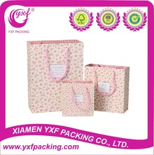 2015 Hot Sale Paper Bag With Rose for Valentine Day