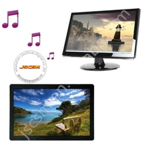TFT LCD wide screen large size 21.5 inch digital advertising player with 1080P full HD video