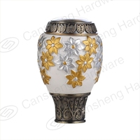 Best sale classic designed decorative resin curtain rod finia factory directly sale