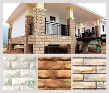 Outdoor decorative facing stone