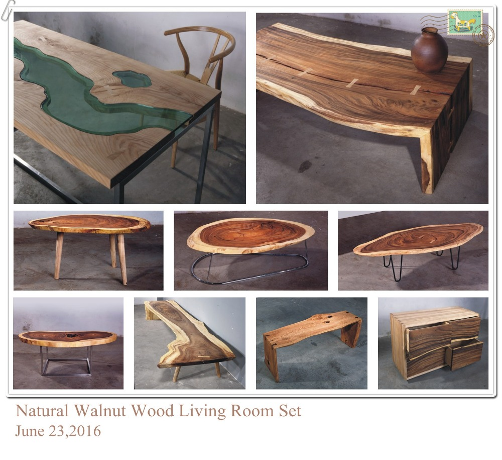 Antique high end solid walnut natural wood living room for High end sofas for sale