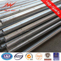 Round Steel Galvanized hot 11 meters steel pole with 10KN load
