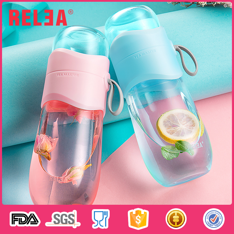 High Borosilicate 330ml glass storage bottles jars
