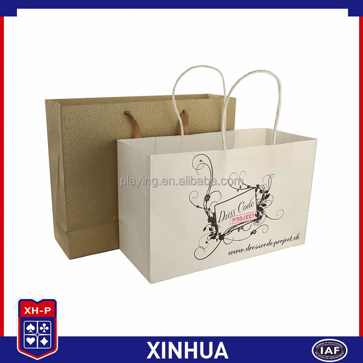 Most popular promotional retail kraft paper bag