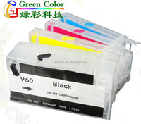 Bulk refill ink cartridge For Hp960 for HP Officejet Pro 3610 3620 with arc chip