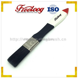 oil absorbing brush, tapered filaments absorbing brush