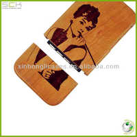 "Wood case for iphone 5"" cellphone wood case"