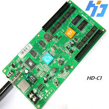 advertising led p10 rgb display module asynchronous video HD-C1