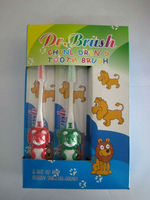 Lovely design with professional designed round brush head child small toothbrush