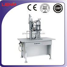 Aerosol Spray Filling equipment, liquid filling, Pu Foam filing machine,