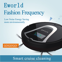China robot vacuum cleaner /robot vacuum cleaner without bag