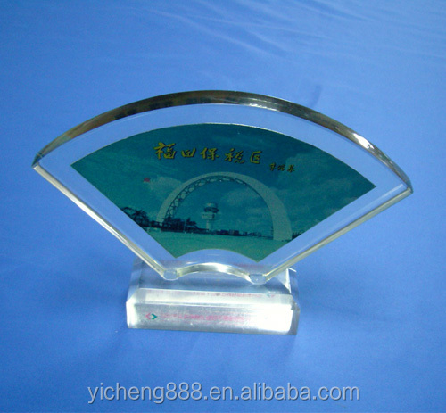 souvenir or reward in acrylic material