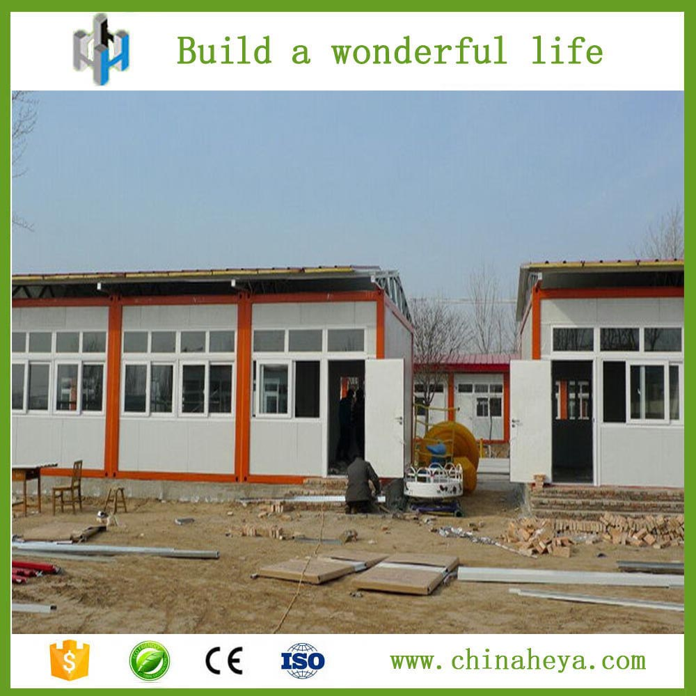 Portable one storey prefabricated container classroom made in China
