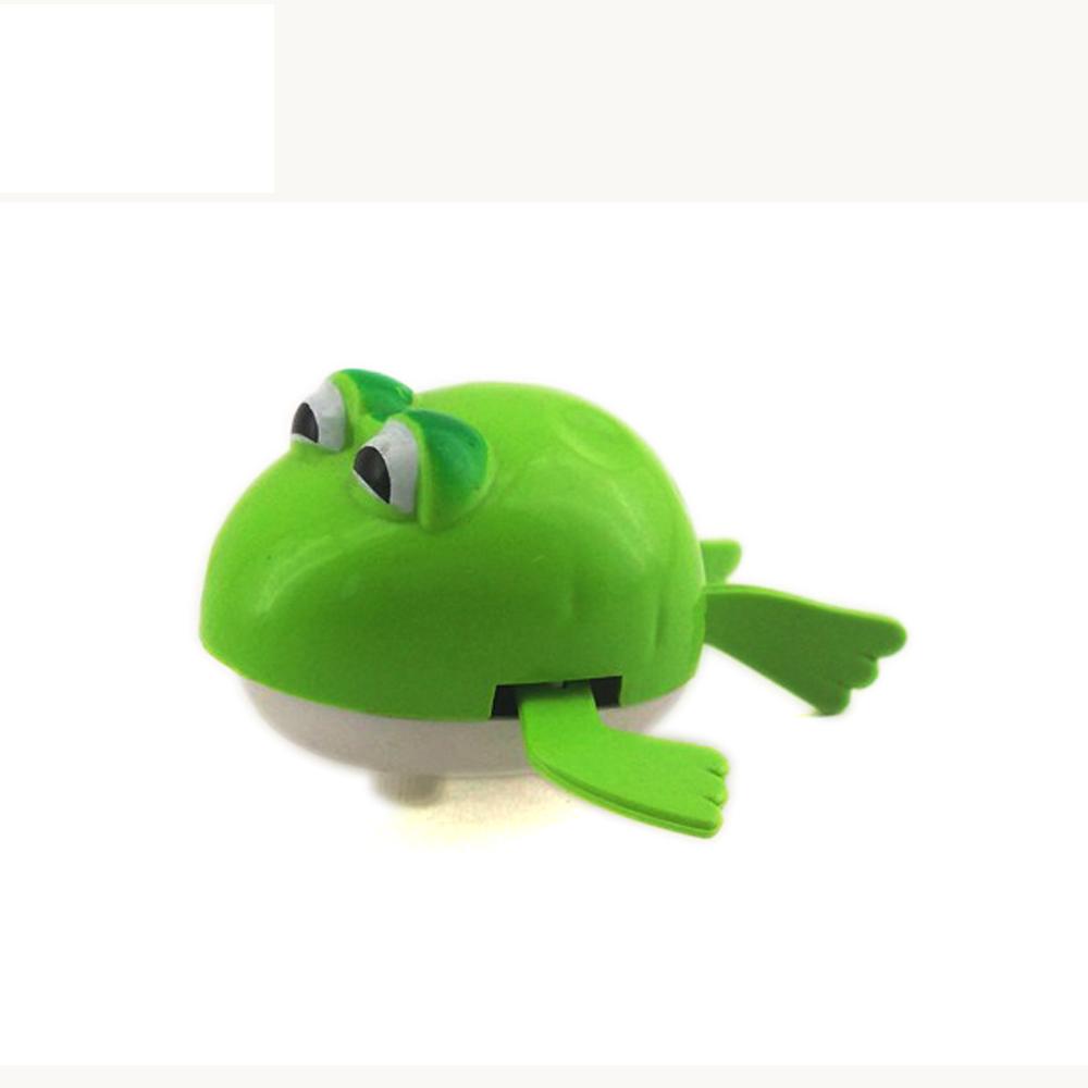 Children Funny Plastic Swim Frog Bath Toys Wind Up Toy Mechanism ...