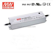 Meanwell HLG-185H-C700 185w 700mA IP67/IP65 Constant Current Single Output LED Power Supply UL CE EMC ENEC