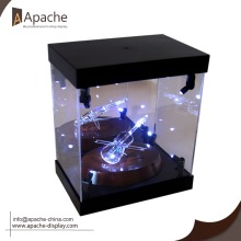 Acrylic jewelry display box for shop exhibition